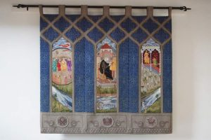 Monmouth Priory Geoffrey Tapestry
