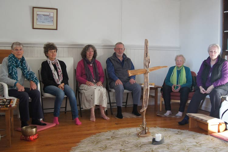 Monmouth Priory meditation group