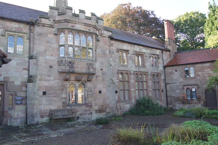 Priory front garden